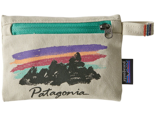 Patagonia Bolsa con Cremallera S, free hand fitz roy/bleached stone
